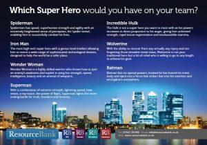 Superhero details